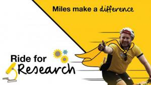 Join Team CF for Ride for Research